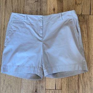 Talbots tan shorts. Size 10P